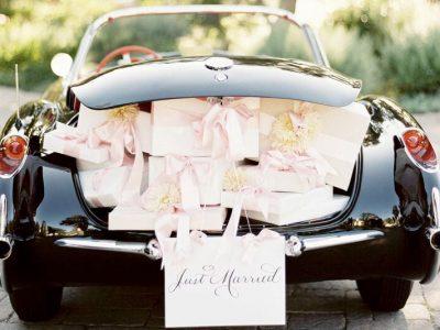Austin Wedding Get Away Car Limo Transportation Classic Vintage Cars