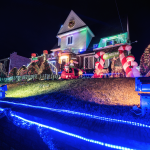 Houston Christmas Lights Tours, Limo, Limousine, Sedan, Van, SUV, Party Bus, Shuttle, Charter, Spirit, Holiday, Trail of Lights, Santa, Dallas, December Nights