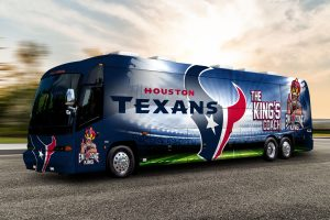 Houston Tailgating Bus Rentals, party bus, shuttle, Charter, Limousine, SUV, Tailgate, BBQ, Sedan, Texans Football, NFL, TDECU Stadium, NRG stadium, Cougars, University of Houston, UH