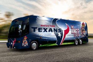 Houston Tailgating Bus Rentals, party bus, shuttle, Charter, Limousine, SUV, Tailgate, BBQ, Sedan, Texans Football, NFL, TDECU Stadium, NRG stadium, Cougars, University of Houston, UH
